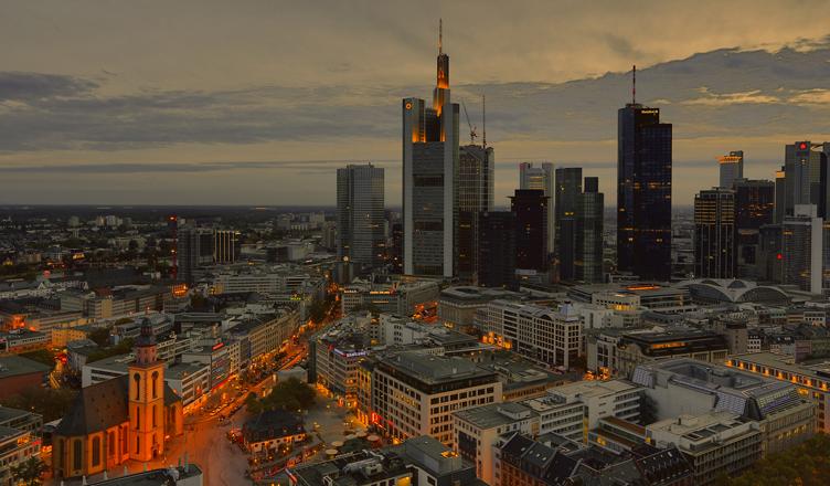 Frankfurter Abendskyline