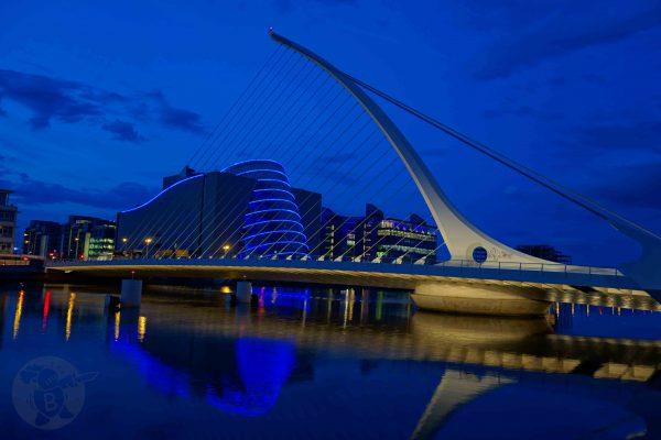 Samuel Backet Bridge in Dublin   © Die Buben - Oliver Bube